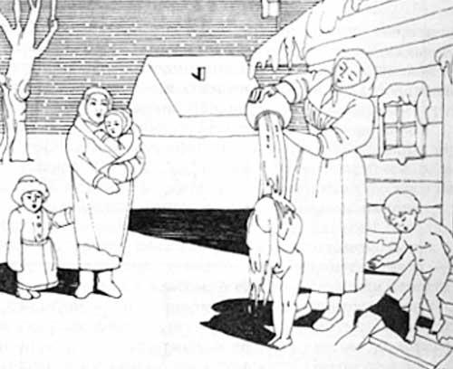 Культура русской бани история