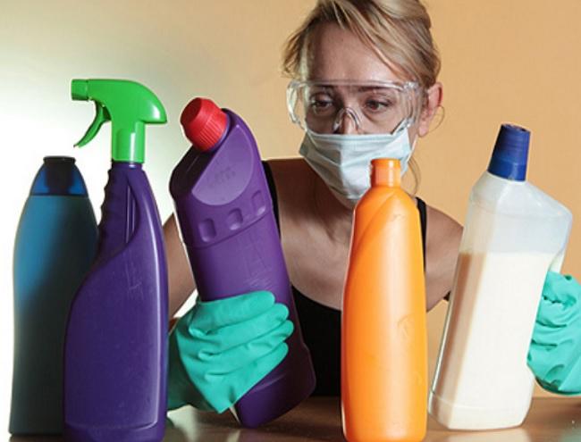 выбор безопасных моющих средств