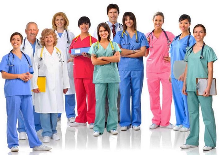 Цветная одежда для медработников
