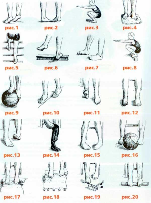Упражнения для профилактики плоскостопия у ребёнка