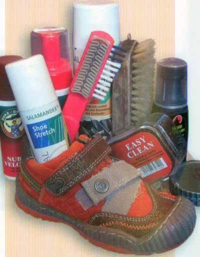 правильный уход за детской обувью