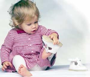 подбор обуви на малыша